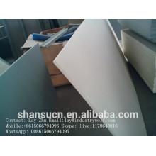 Tablero duro de la espuma del PVC de la construcción de 19m m, tablero de la espuma de la corteza del Pvc para los muebles y el gabinete
