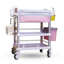 Carrinho com carrinho de tratamento ABS com cor opcional