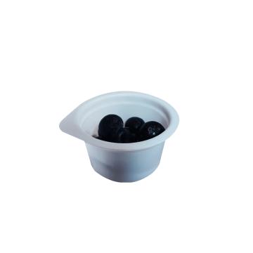 Taza de salsa de porción de soufflé de ampolla de plástico de escritura redonda