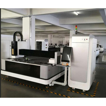 MACHINE DE COUPE AU LASER IPG2KW METAL FEUILLE