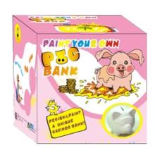 the Ceramic Paint Piggy Bank(pig) (8081)
