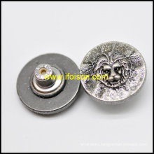 Jeans Button with Lion Parttern for Fashion Jeans