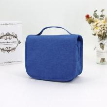 Popular Unisex Large Makeup Bag Zipper Pouch Travel Cosmetic Organizer Men's Hanging Hook Toiletry Makeup Bag