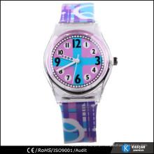 Resumo design plástico criança relógio quente, relógio de tempo puro