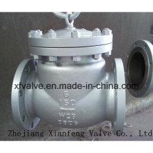 Vanne de retenue à bascule en acier à fonte moulée à usage industriel ANSI