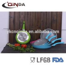 Новый стиль керамическим покрытием кованые сковорода