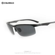 Cramilo 2018 Aluminum Magnesium UV400 Sunglasses Men Polarized Sunglasses Aluminum sunglasses