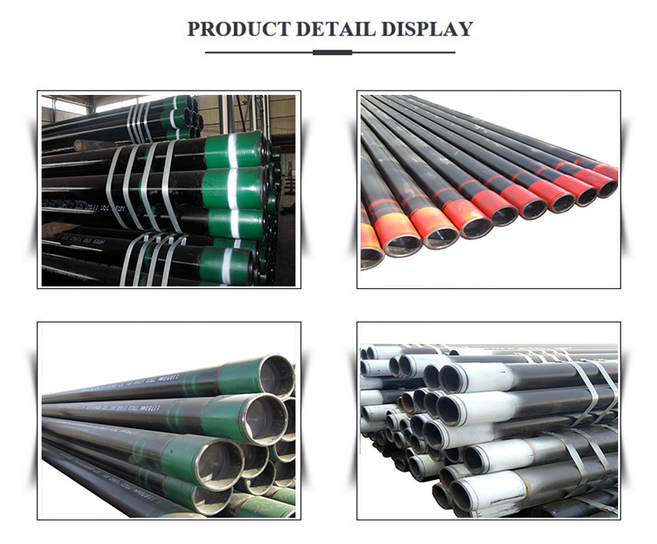 oil casing pipe display