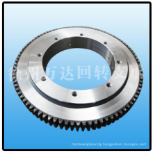 Teeth hardened heat treatment slewing ring bearing SISO552