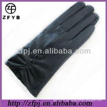 2013 guantes de invierno de estilo de moda hechas de piel de cordero