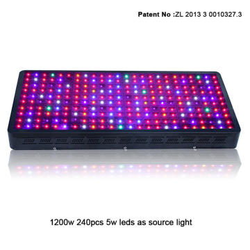 Indoor Led Plant Grow Light 1200W voor Hydroponic