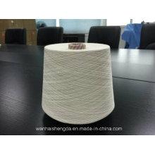 100% algodão penteado anel girado cor fio