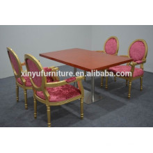 High quality soild wood table and chairs for used XYN1248