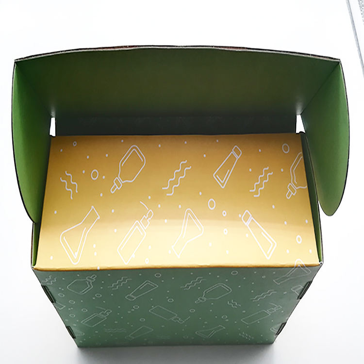Custom Corrugated Shoe Box
