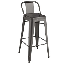 Metal Frame Restaurant Stackable Tolix Chair