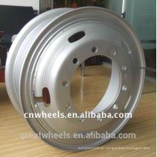 Roda de reboque de aço 7,5-20 roda de caminhão