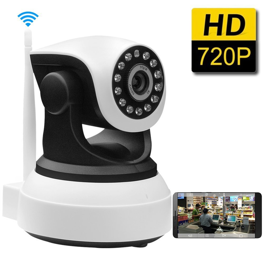 WiFi 1mp Ip Kamera CCTV-Webcam mit Mikrofon