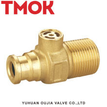 brass nickle plating horizontal safety valve