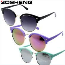 Nueva marca de dama gafas gafas de sol mujeres gafas de sol