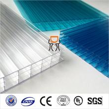 6 mm y 8 mm y 10 mm y 12 mm y 14 mm y 16 mm Triple pared de policarbonato hoja hueca