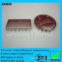 Barra plana magnética