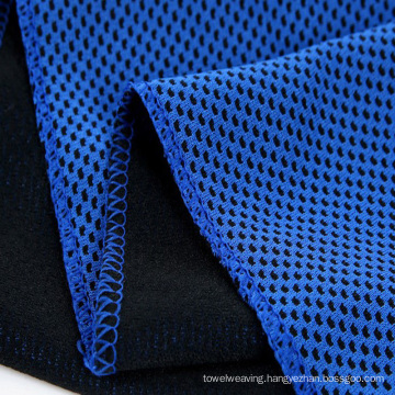 Microfiber Cooling Diamond Cloth Weft Knitting Quick Dry Super Absorbency Towel