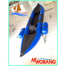 2015 Novo caiaque inflável de pesca, canoa Whitewater