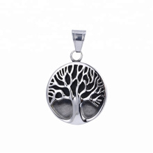 33497 xuping   fashion Stainless Steel jewelry black gun color tree shape  pendant