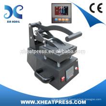 2016 NEW CONDITION manual heat press machine for label printing, mini ribbon printing machine
