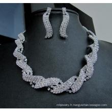 Brede robe nouvelle mode bijoux fantaisie mariage