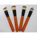 Free Sample 4PCS Synthetic Powder Brush Set Cosmetic Tools