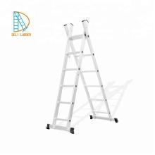 1,2,3 capas de aluminio escalera recta, escalera de extensión, escaleras plegables,
