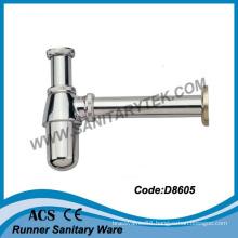 1 1/4′′ Brass Bottle Trap Sink Siphon (D8605)