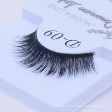 Synthetic fiber eyelashes customized order with private brand wholesale 3D luxury eyelash false synthetic
