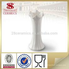 vaso de flor de alabastro branco francês