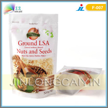 Stand up Bottom Gusset Packaging Bag for Nuts and Seeds