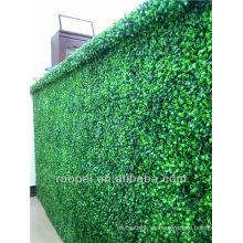 Yiwu alta calidad pared de césped artificial / setos para la decoración