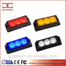 LED de montaje superficial ADVERTENCIA destella luces Mini Led Linterna SL6231