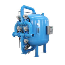 Quartz Sand Filter with Claw Shape Ss304 Filter Screen
