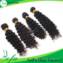 Grade 7A Deep Wave Brazilian Human Hair Remy Hair Extension