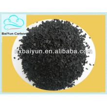 carbón activado de cáscara de palma granular