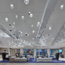 Modern customization modern fashion simple indoor luxury led pendant light