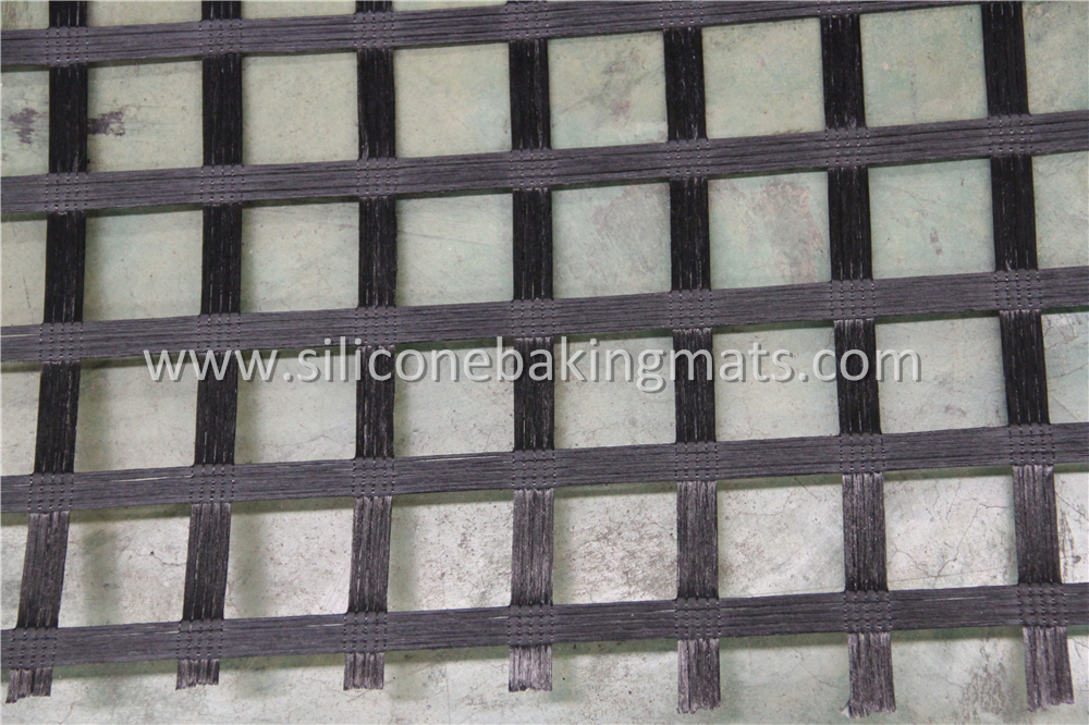 Polyester Geogrid Sbr Coated