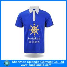 Camisa de Polo Promocional Promocional Barata com Alta Qualidade