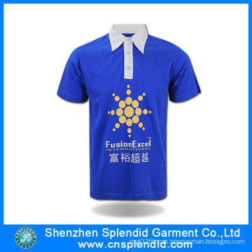 Cheap Promotional Advertising Plain Polo Shirt with High Quality