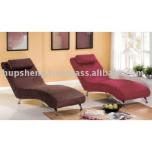 Chaise relaxante en tissu