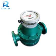 Fuel oil turbine gas mechanical fuel flow meter