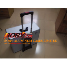 Heavy Duty Hard Trolley Utility Tool Box Flight Case
