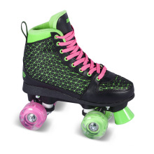 Soft Boot Quad Roller Skate for Adults (QS-41)