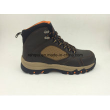 Casual Style Outdoor Shoes with Rubber Sole Safety Working Shoes (16054)